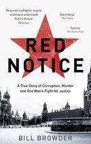 Boek cover Red Notice van Bill Browder (Onbekend)