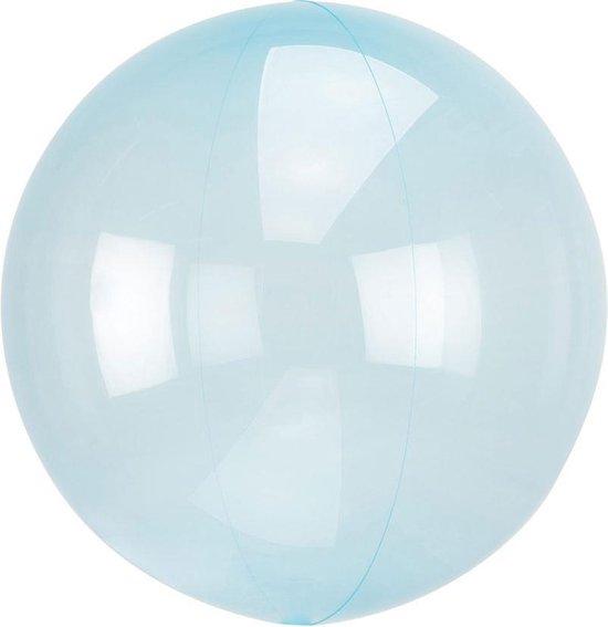 Ballonnen Orb Crystal Blue - 46 Centimeter