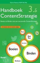 Omslag Handboek ContentStrategie