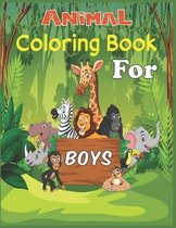 Animal Coloring Book For Boys