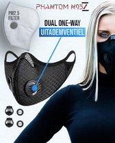 herbruikbare masker inclusief filters N95 Z sportm