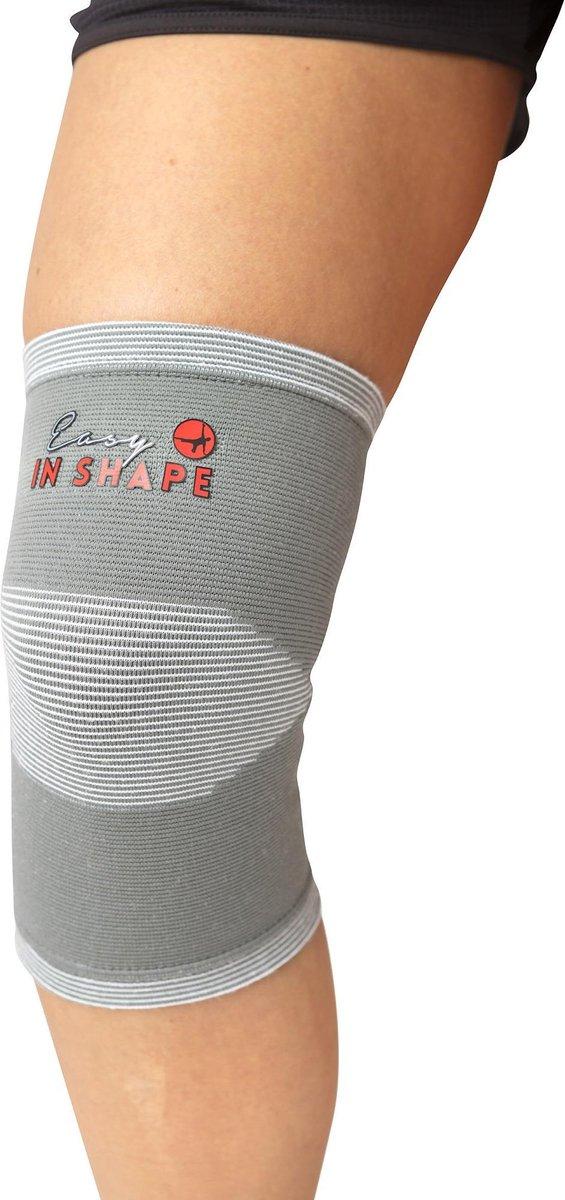 Easy in Shape Knie Ondersteuningsband | Knieband | Brace | Elastisch | OEKO-TEX® gecertificeerd | L/