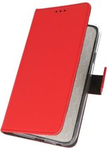 Wicked Narwal | Wallet Cases Hoesje voor Samsung Samsung galaxy a5 20151 Rood