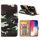 FONU Bookcase Hoesje Camoprint iPhone XS / X