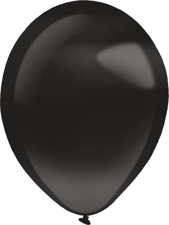Amscan Ballonnen Pearl 12 Cm Latex Zwart 100 Stuks