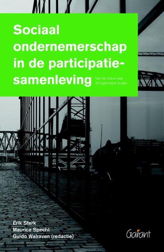 Sociaal ondernemerschap in de participatiesamenleving