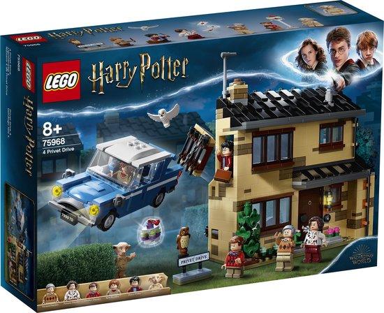 LEGO® Harry Potter™ Ligusterlaan 4 75968 verzamelset voor kinderen die van rollenspellen en poppenhuizen houden (797 onderdelen)