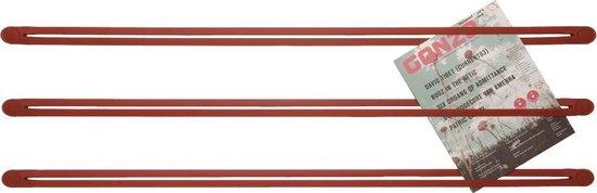 DROOG Design - Ophangsysteem - Strap | rood | set van 3