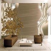Fotobehang – Behangpapier - Fotobehang - Golden buds 400x280 - Artgeist