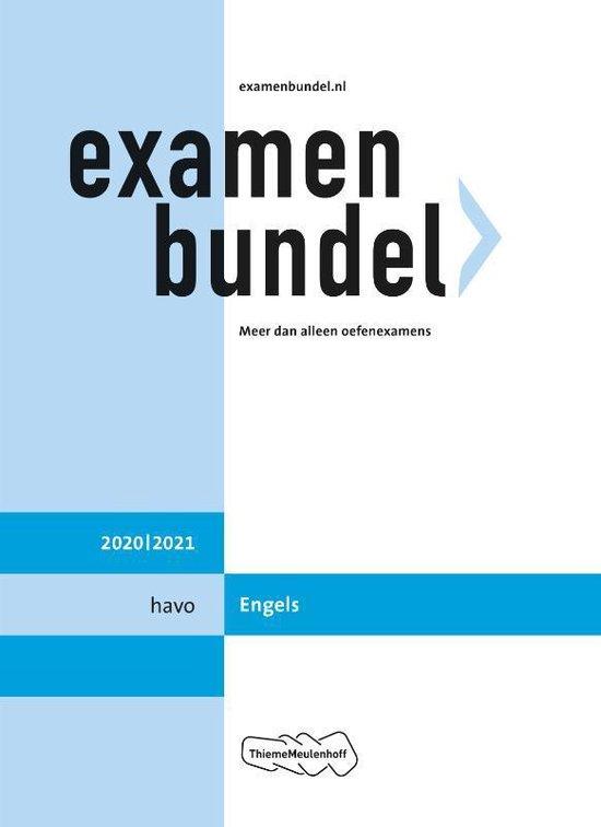 Boek cover Examenbundel havo Engels 2020/2021 van  (Paperback)