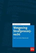 Educatieve wettenverzameling  -   Sdu Wettenbundel Straf(proces)recht. Editie 2020-2021