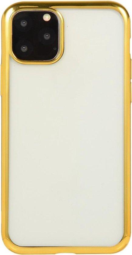 Voor iPhone 11 Pro Electroplating TPU beschermhoes (goud)