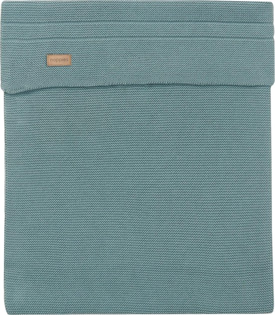Noppies Ledikantdeken - Groen - 120x120 cm