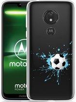 Moto G7 Power Hoesje Soccer Ball