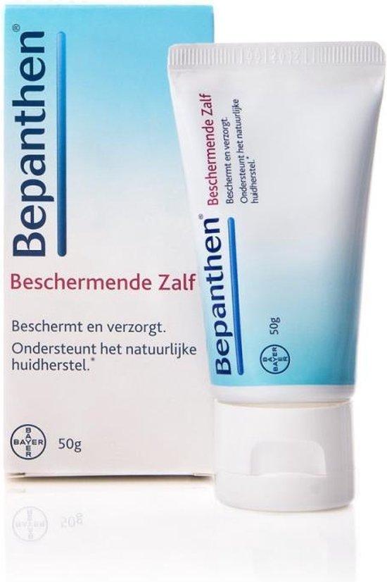 Bepanthen Beschermende Zalf voor droge en ruwe huidplekken, 50 gram