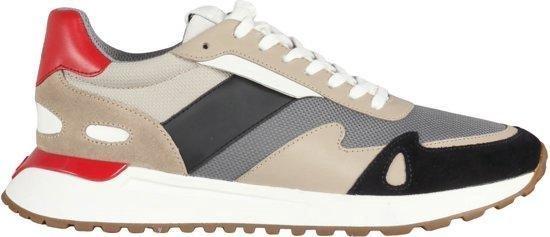Michael Kors Miles Heren Sneaker - Grey - Maat 41