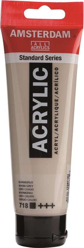 Amsterdam Standard Acrylverf 120ml 718 Warmgrijs