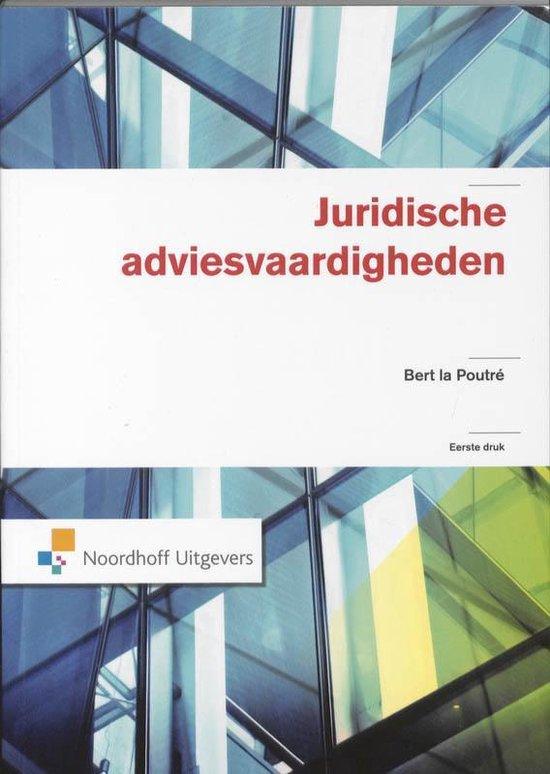 Juridische adviesvaardigheden - B. La Poutre  