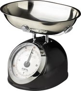 Gusta - Keukenweegschaal 2kg zwart