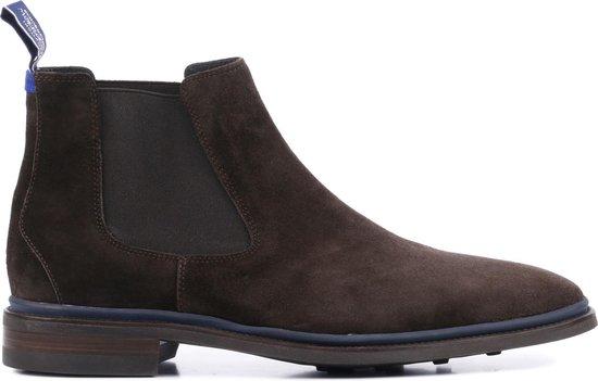 Floris van Bommel Mannen Boots 10669 Bruin Maat 42