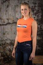 Harry's Horse Rijbroek Dutch Orange Full Grip