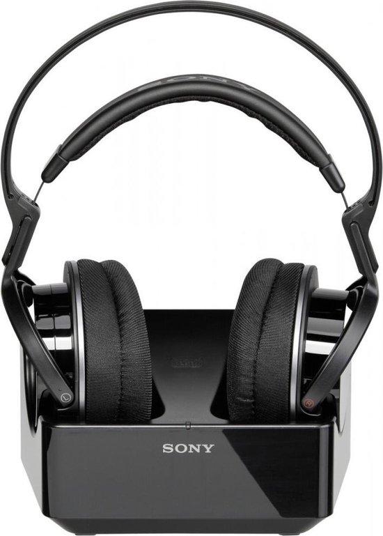 Sony MDR-RF855RK - Draadloze over-ear koptelefoon - Zwart