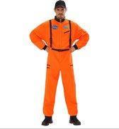 Science Fiction & Space Kostuum | Amerikaanse Astronaut Oranje | Man | Large | Carnaval kostuum | Verkleedkleding