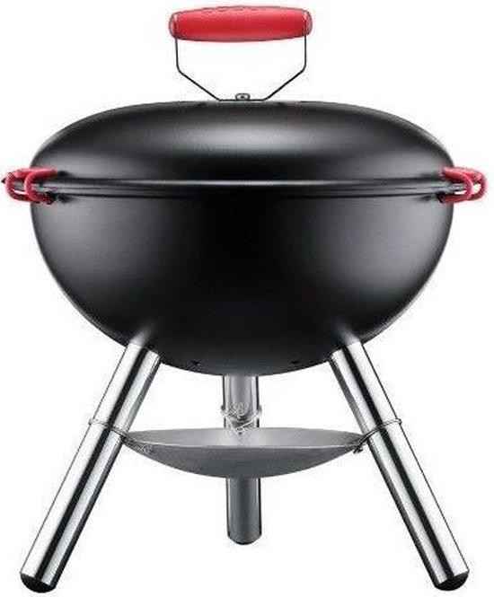 Bodum Fyrkat Picnic Houtskoolbarbecue - Ø 39 cm - Zwart
