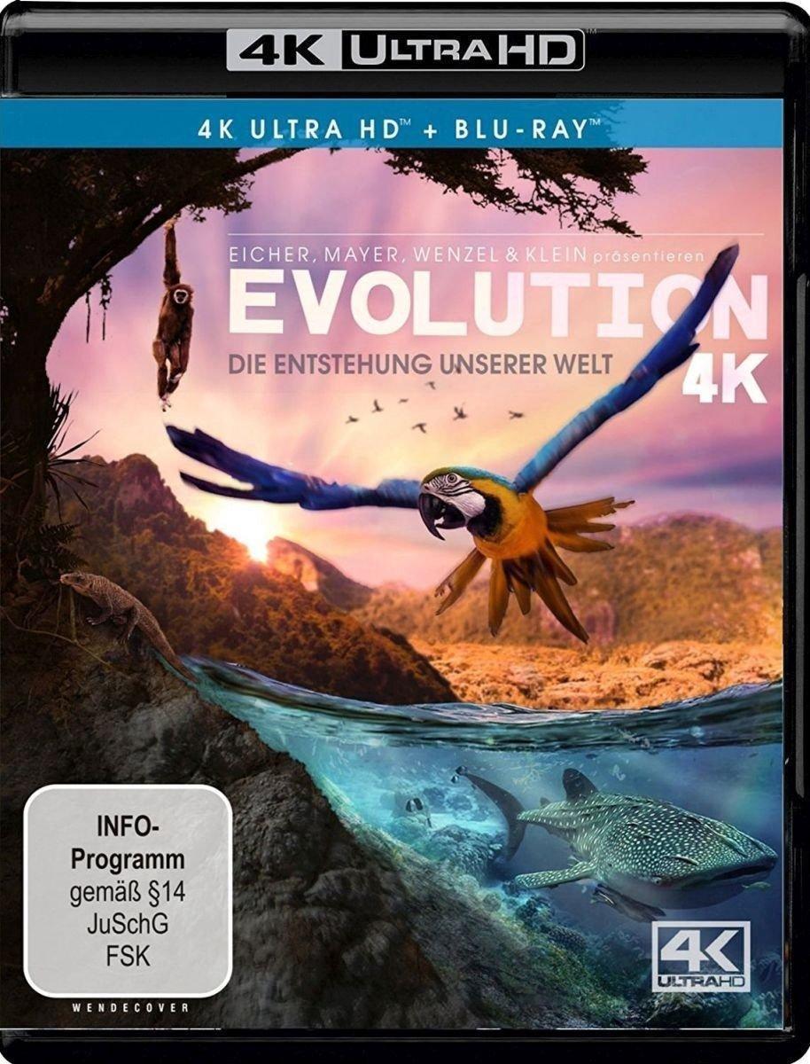 Evolution 4K - Die Entstehung unserer Welt (Ultra HD Blu-ray & Blu-ray)-