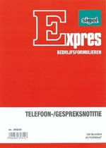 Telefoongespreksnotitieblok Sigel Expres A5 100 Blad 5st.