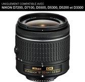 Nikon AF-P DX NIKKOR 18-55mm f/3.5-5.6G SLR Zwart