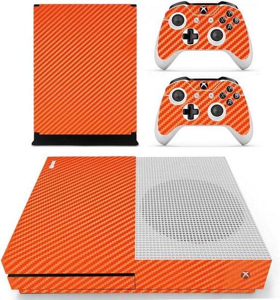 Orange Carbon - Xbox One S skin