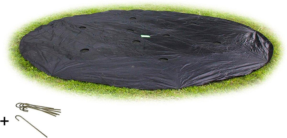 EXIT groundlevel trampoline afdekhoes ø305cm