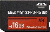 16 GB Memory Stick Pro Duo HX-geheugenkaart - 30 MB / seconde hoge snelheid, voor gebruik met PlayStation Portable (100% werkelijke capaciteit)
