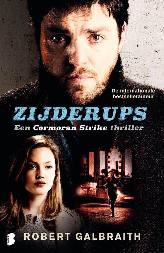 Boek cover Zijderups van Robert Galbraith (Onbekend)