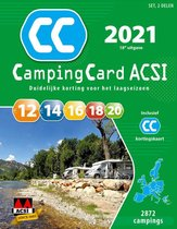 Boek cover ACSI Campinggids  -   CampingCard ACSI 2021 van Acsi (Paperback)