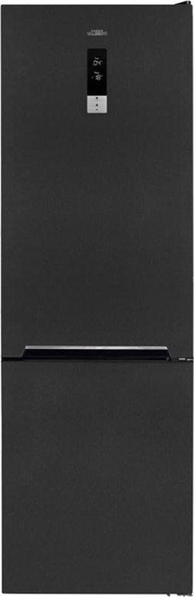 Koelkast: Koel-vries combinatie - zwart - VALBERG By Electro Depot -  CNF 330 F DX701T, van het merk VALBERG