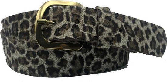 grijze riem – Leopard V45 Grey Dames riem – Broekriem Dames – Dames riem – Dames riemen – heren riem – heren riemen – riem – riemen – Designer riem…