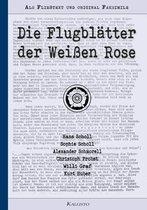 Omslag Die Flugblätter der Weißen Rose