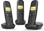 Gigaset A270 - Trio DECT telefoon - Zwart