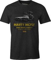 Back to the Future - Marty McFly Anthracite T-Shirt M