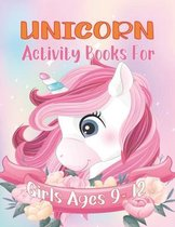 Unicorn Activity Books For Girls Ages 9-12