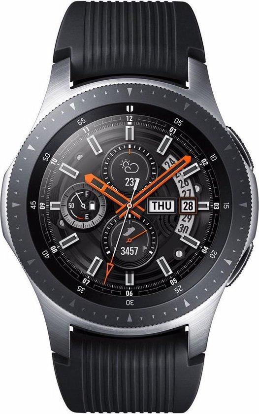 Samsung Galaxy Watch - Smartwatch heren - 46mm - Zwart/zilver