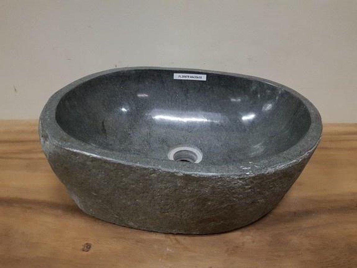 Waskom natuursteen FL20479 - 44x33x15cm