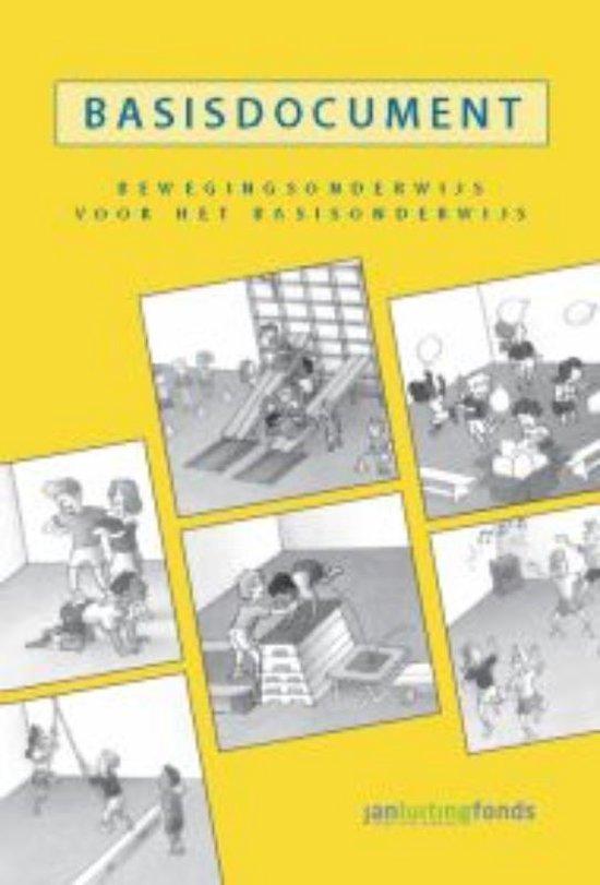 Boek cover Basisdocument bewegingsonderwijs voor het basisonderwijs van Chris Mooij (Hardcover)