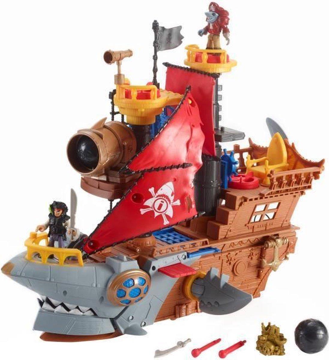 VISSERPRIJS Imaginext Piratenschip Shark - 3 jaar en +
