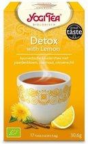 YogiTea Biologische Detox thee met Lemon