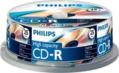 Philips CR8D8NB25 - CD-R 90Min - 800MB - Speed 40x - Spindle - 25 stuks