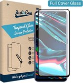 Just in Case Full Cover Tempered Glass voor Realme 7 Pro - Zwart
