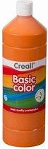 Creall plakkaatverf Basic Color 500ml - Oranje
